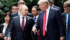 Trump, Putin agree no military solution...
