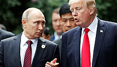 Smiles and snaps: Trump and Putin's...