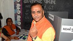 Vijay Rupani sworn in as Gujarat chief...