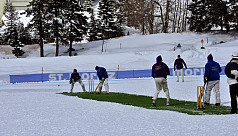 First ever T20 cricket on ice