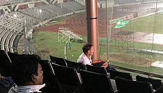 Teddy Sheringham in Dhaka to watch son...