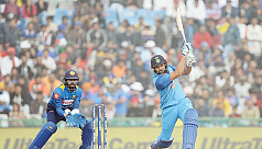 Rohit smashes third ODI double ton in...