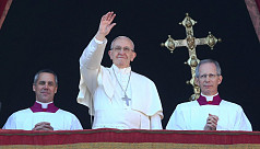 Pope calls for peace in Jerusalem in...