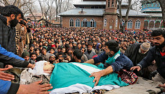 Three Indian soldiers killed in Kashmir...