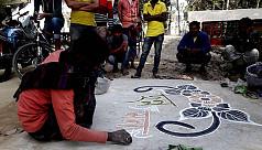 Bohemian artist creates hype in Panchagarh...