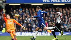 Hazard, Morata on target as Chelsea...