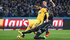 Higuain downs former club Napoli
