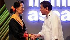 Duterte tells Suu Kyi to ignore 'noisy'...