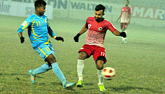 Treble-chasing Abahani begin with 2-0...