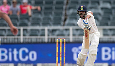Rabada gets three as India restricted...