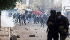 200 arrested, dozens hurt in Tunisia...