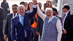 Netanyahu in India for first visit by...