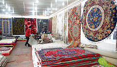 Foreign carpets are still an attraction...