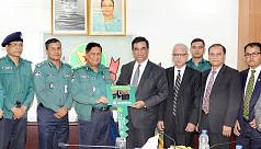 Pubali Bank donates a pick-up truck to DMP