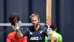 Williamson ton sinks Pakistan in Wellington...