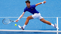 Djokovic very, very happy after first...