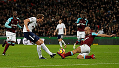 Obiang, Son net scorchers as Spurs draw...