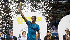 Monfils storms to Qatar title