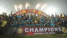Abahani handed BPL trophy