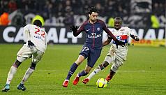 Lyon trim PSG Ligue 1 lead with 2-1...