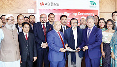 AB Bank, Bangladesh Eye Hospital ink...