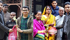 9 BCS cadres greeted with flowers, sweets...