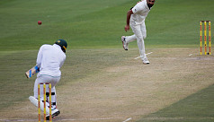 Dangerous pitch halts India's victory...