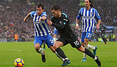 Hazard stars as Chelsea return to winning...