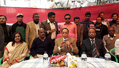Ershad: Khaleda will end up in