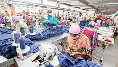 Why are woven garment exports falling behind?