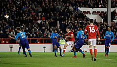 Arsenal dumped out of FA Cup, Leeds...