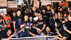 Journalists protest Philippine move...