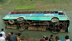 30 injured 2 missing as bus plunges...