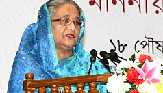 PM Hasina declares pharmaceuticals 'Products of the Year' at DITF