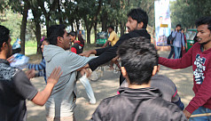 Chhatra League men assault SUST, RU...