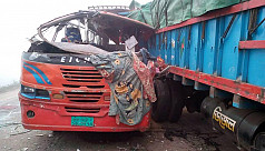 Bus-truck collision leaves four Ijtema...