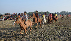 Behold the mighty equestrians of Tangail