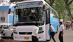Another Volvo bus added to Agartala-Dhaka-Kolkata...