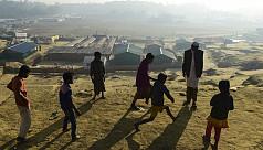 Traumatized Rohingya children fear return...