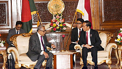 President Hamid seeks Indonesia's support...