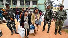 Nagaland, Meghalaya vote in state assembly...