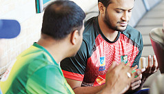 Shakib in Thailand for medical...