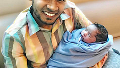 Mushfiq blessed with baby boy