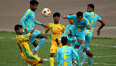 Independence Cup: Ctg Abahani set up...