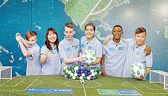 Gazprom Football for Friendship to kick...