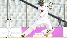 Moments: Mominul goes early, Mahmudullah's...
