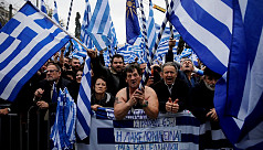 Greeks rally in Athens over Macedonia...