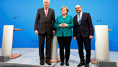 Germany's top parties reach deal on...