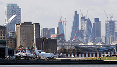 London City Airport shut after WWII...
