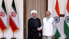 India, Iran sign pact during Rouhani...